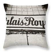 Palais Royal Throw Pillow