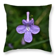 Pale Purple Throw Pillow