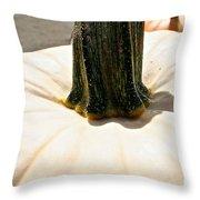 Pale Throw Pillow