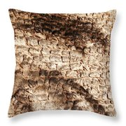 Palm Fragment Throw Pillow