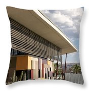 Palm Springs Animal Shelter  Throw Pillow