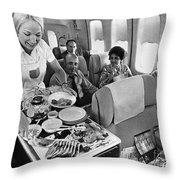 Pan American Service Throw Pillow