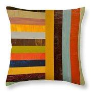Panel Abstract - Digital Compilation Throw Pillow