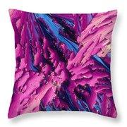 Pangamic Acid Crystal Throw Pillow
