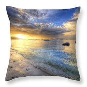 Panglao Island Sunrise Throw Pillow