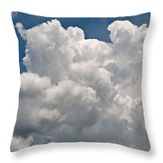 Panoramic Clouds Number 1 Throw Pillow