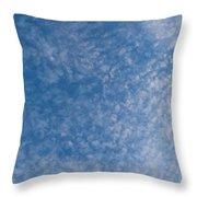 Panoramic Clouds Number 7 Throw Pillow