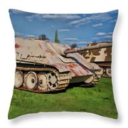 Panzerjager V Throw Pillow