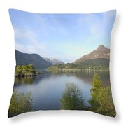Pap Of Glencoe Throw Pillow