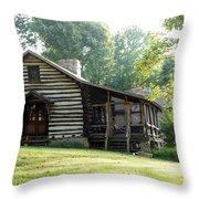 papa Tom's cabin Throw Pillow