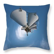 Paper Mill In The Sky Throw Pillow