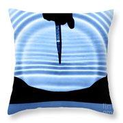 Parabolic Reflection Throw Pillow