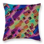 Paradichlorobenzene Crystals  Throw Pillow