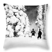 Paradise Inn, Mt. Ranier, 1917 Throw Pillow