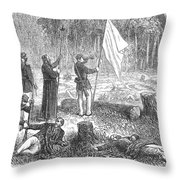 Paraguayan War, 1868 Throw Pillow
