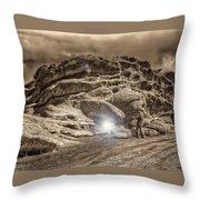 Paranormal Rockies Throw Pillow