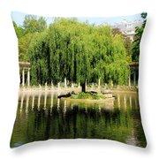 Parc Monceau Paris Throw Pillow