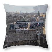 Paris 01 Throw Pillow