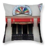 Paris Casino Throw Pillow