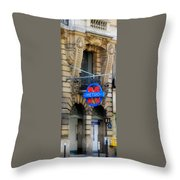 Paris Metro 5 Throw Pillow