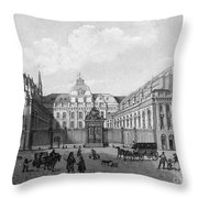 Paris: Palais De Justice Throw Pillow