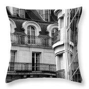 Paris Reflections 1 Throw Pillow