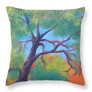 Park Trees 9 Throw Pillow