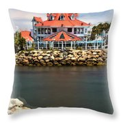 Parker's Lighthouse Charm Throw Pillow