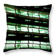 Parking Lot  Throw Pillow