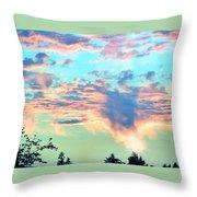 Parrish Sunset Throw Pillow