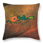 Parrotfish Scaridae Throw Pillow