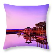Parsonage Creek Throw Pillow