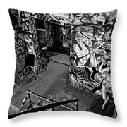 Part Of The Wall Throw Pillow