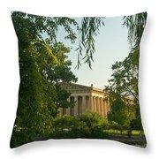 Parthenon At Nashville Tennessee 12 Throw Pillow
