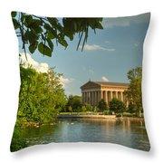 Parthenon At Nashville Tennessee 13 Throw Pillow