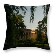 Parthenon At Nashville Tennessee 14 Throw Pillow