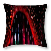 Particulated Arch Throw Pillow