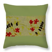 Parts And Pieces  Throw Pillow
