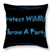 Party 2 Throw Pillow