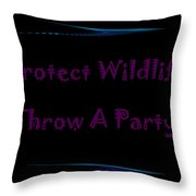 Party 3 Throw Pillow
