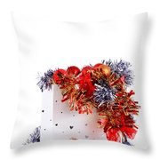 Party Decorations In A Bag Throw Pillow