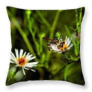 Party Flower Throw Pillow