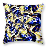 Party Time Abstract Throw Pillow