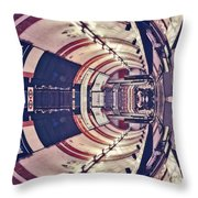 Passage Tubulaire - Archifou 45 Throw Pillow