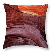 Passageway To The Wave Throw Pillow