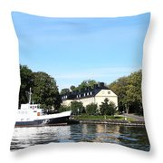 Passing By..... Throw Pillow