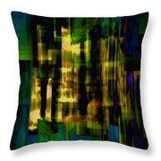 Passing Crowd Throw Pillow