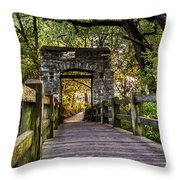 Passing Over Into The Light Throw Pillow