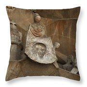 Passion Facade Spain Throw Pillow