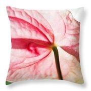 Passion For Flowers. Lightness Throw Pillow